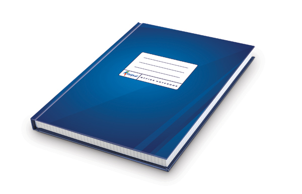 Book Cover Paper Gsm : Record book forpus